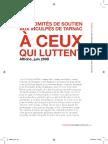 """Textes et documents relatifs à l'affaire dite """"de Tarnac"""" - Lundimatin papier #2 [Extrait]"""