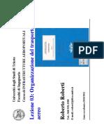 IA 2010-2011 L03 OrganizzazioneTrasportoAereo