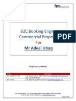 Proposal B2C Travel Booking Engine