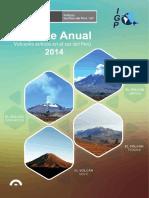 Reporte Anual Volcanes Activos 2014