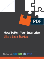 How to Run Your Enterprise Like a Lean Startup Catalant