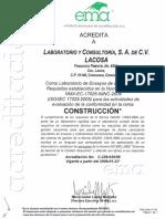 acreditacion certificado