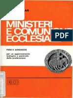 Congar Y. - Ministeri e Comunione Ecclesiale1