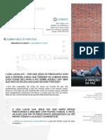 Casas de Paz - Estudo 1