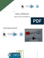 Led y Arduino