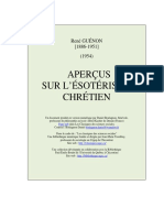 Apercus sur l'esoterisme chretien (Guenon Rene).pdf