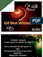 Eid Best Wishes