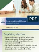 YC-Presentación Del Plan de Capacitación