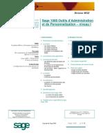 Plan de formation Outils Sage FRP 1000