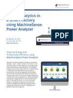 Energy Analytics in a Smart Factory Using Machinesense Power Analyzer