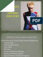 Capacity in Apparel Industry