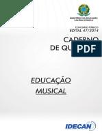 Prova - Pedro II - Professor Efetivo 2014