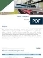 ALSTOM Investor Presentation March 2017