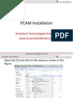 292034475 Scientech PCAM Installation