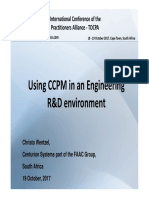 Using CCPM in an Engineering R&D environment