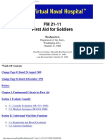 487700 FM 2111 Soldiers First Aid