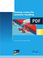 Floating Cranes for Container Handling