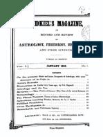 Zadkiels Magazine v1 n1 Jan 1849