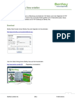 3D PDF With Bentley View