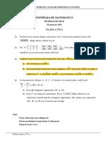2016 Matematica Locala Covasna Clasa a via Subiectebarem