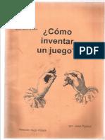 Cómo Inventar Un Juego - José Puchol