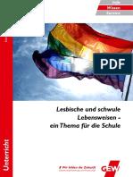 GEW - Lesbische Und Schwule Lebensweisen