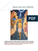 Botezul Domnului - Predica si Tâlcuire a Mitropolitului Hierotheos Vlachos