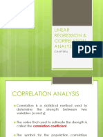 Linear Regression Correlation Analysis
