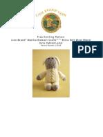 Amiguri Lamb Cabled Lamb L10128