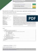 Bio-production of lactobionic acid