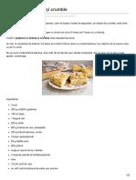 Prăjitura Cu Brânză Și Crumble