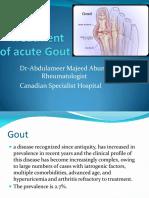 Treatment of Acute Gout (4)