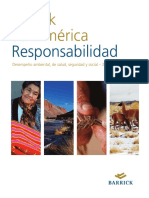BARRICK-Reporte Responsabilidad 2006