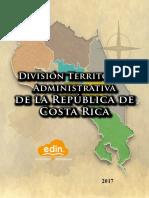División Territorial Administrativa de la República de Costa Rica
