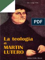 La Teologia Di Lutero