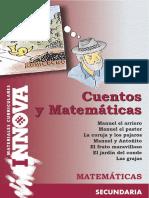 Cuentos y Matematicas Matematicas Secundaria