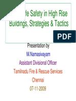 Fire & Safety - Mr. M.namasivayam