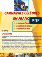 Carnavals Celebres en France