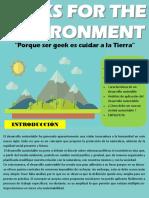 GEEKS FOR THE ENVIRONMENT (Boletín informativo)