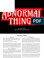 Abnormal Things