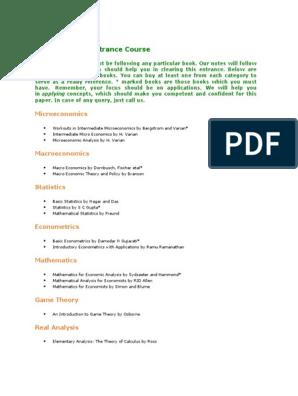 for IES docx | Macroeconomics | Econometrics
