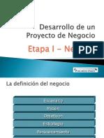 Proyecto de Negocio 2015 Etapa 1