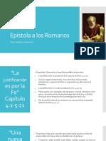 Epístola a Los Romanos Cap 4-16