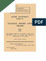 Enemy Equipments Italian Mines