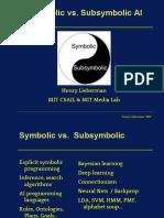 Symbolic vs. Subsymbolic.pptx