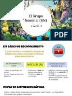 El Grupo Nominal (GN)