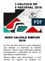 Novo Calculo Do Simples Nacional 2018