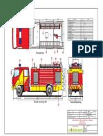 2. Gambar Teknis Hino 500 Ranger FG 235 JJ Fire Truck 5500 Water Foam Double Cabin SNI Standart PROTEKTA FIREFORT VATOR.pdf