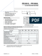Data Sheet pr1001l