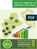 Anuario Estadistico Agropecuario 2016